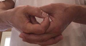 mudra thumbs