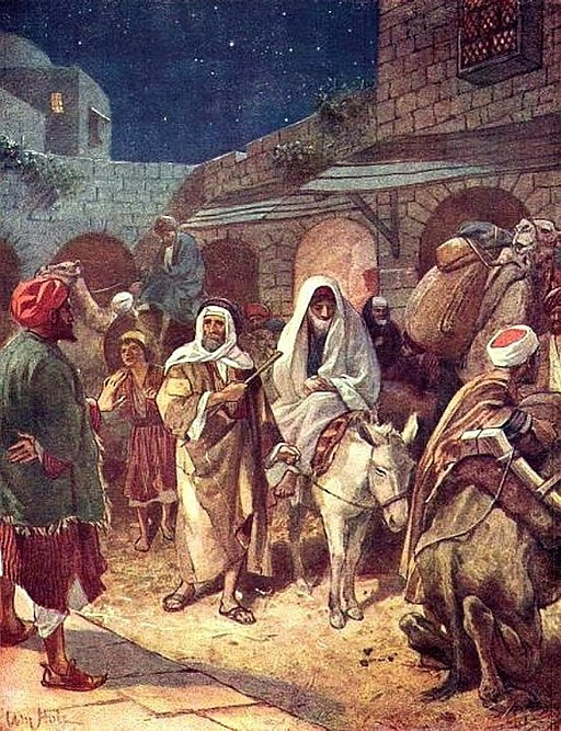 Mary and Joseph in Bethlehem